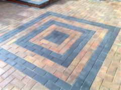 The block paving will be maintenance free for many years