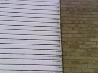 fascia before cleaning