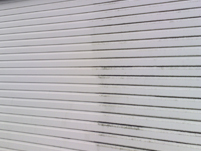 fascia during the cleaning process